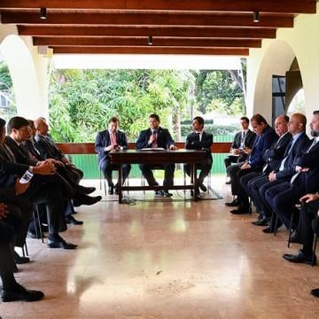 Reunião entre líderes partidários e ministro Sérgio Moro debate prisão em 2º instância