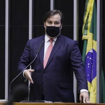 Presidente da Câmara, Rodrigo Maia, testa positivo para Covid-19
