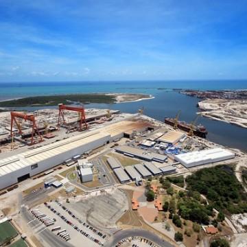 Crise no Estaleiro Atlântico Sul derruba desempenho da indústria de Pernambuco em julho