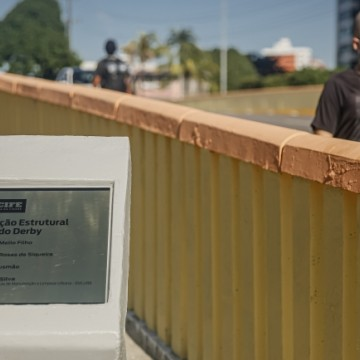 Obras da ponte do Derby são concluídas