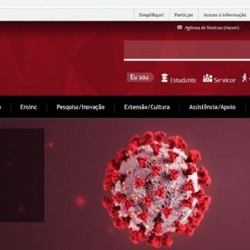 UFPE lança plataforma que unifica informações sobre o novo coronavírus