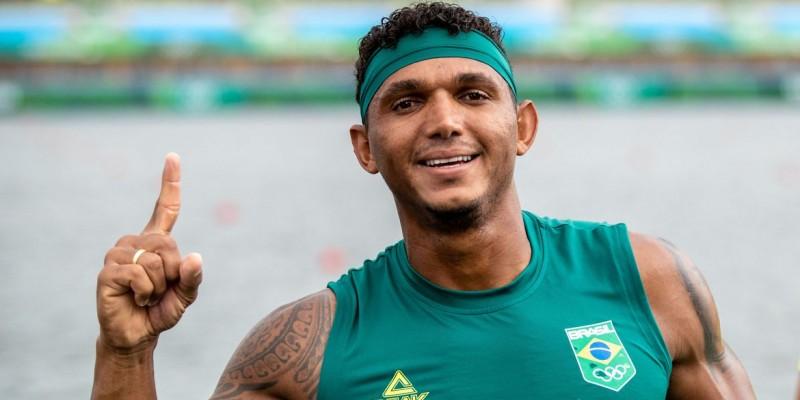 Baiano venceu prova do C1 1000 m na Olimpíada de Tóquio
