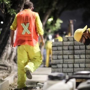 Recife promete investir 70 milhões de reais na revitalização de calçadas da cidade
