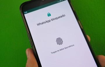 Saiba como utilizar o bloqueio por impressão digital no WhatsApp pelo Android