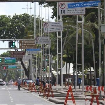 Isolamento em Pernambuco caiu para 49,5% nesta segunda
