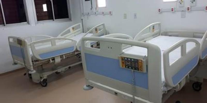 Neste primeiro momento, os leitos irão atender pacientes com a Covid-19