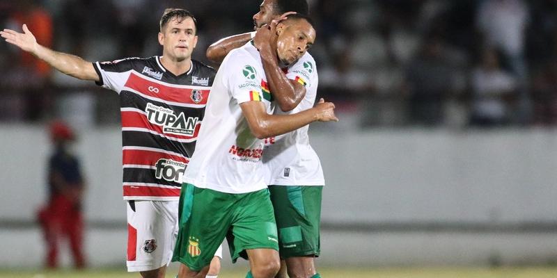 Jogador estava na equipe do Sampaio Corrêa, e foi artilheiro da Série C com 8 gols