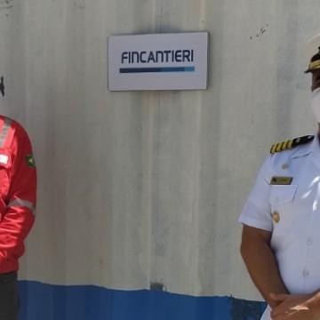 Grupo Fincantieri doa contêineres para o Hospital Naval do Recife