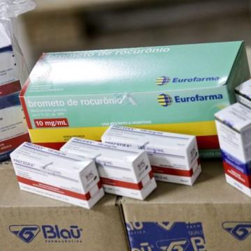 Estados receberão 864 mil unidades de medicamentos do kit intubação