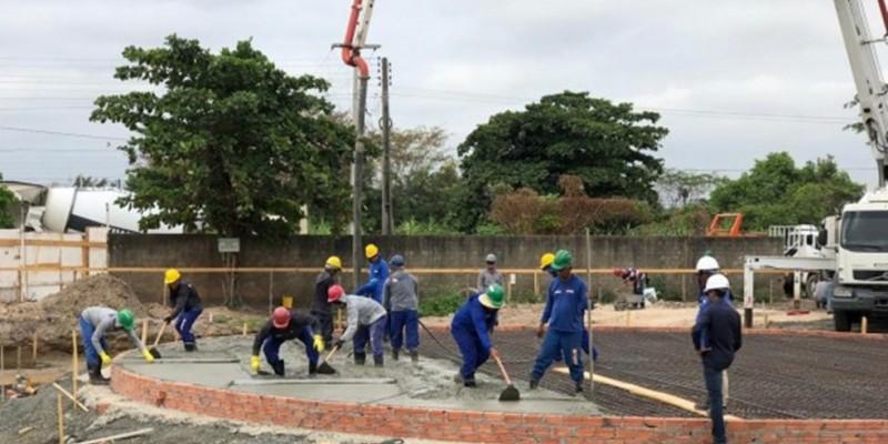 Obras devem beneficiar 38 mil habitantes,  compostas pela implantação de mais de 41 mil metros de ramais, 11 quilômetros de rede coletora de esgotos e de duas Estações de Elevatórias, com capacidade de bombear até 26 litros por segundo