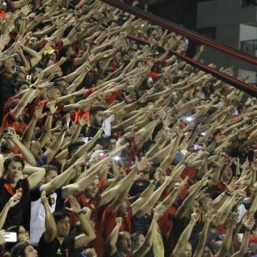 Sport faz promoção para jogo contra o CRB, em Maceió