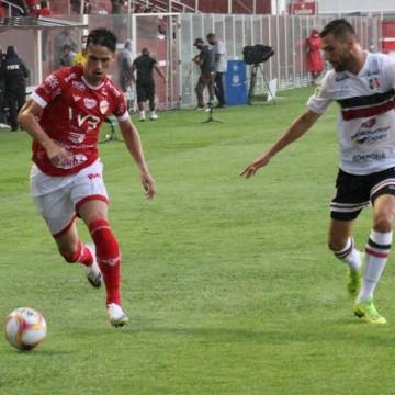 Santa Cruz perde para o Vila Nova pela quinta rodada da Série C