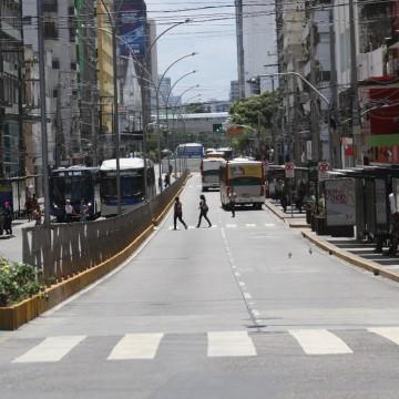 Duas novas paradas de ônibus entram em operação na Conde da Boa Vista nesta sexta (27)