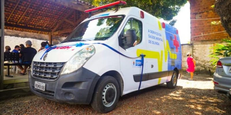 A entrega do veículo faz parte da programação do Setembro Amarelo, que tem como propósito a prevenção ao suicídio