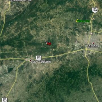 Tremores de terra são registrados em Caruaru; um deles atingiu 2.2 graus de magnitude
