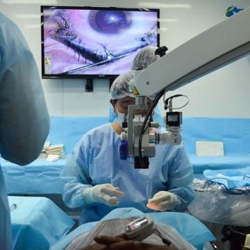 Mutirão de cirurgia de catarata atende 2.750 pacientes gratuitamente
