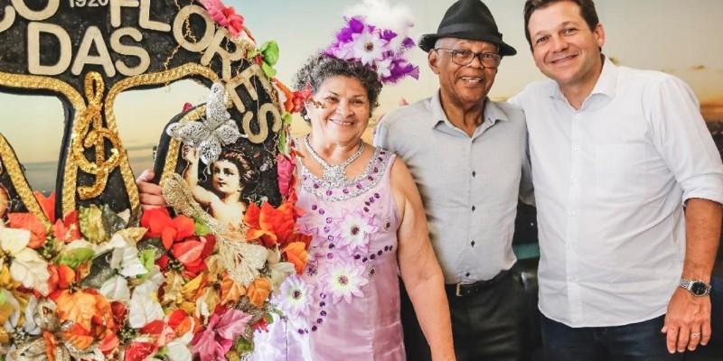 Os homenageados devem se apresentar no palco do Marco Zero, bairro do Recife, na Sexta-feira Gorda, que este ano será no dia 21 de fevereiro