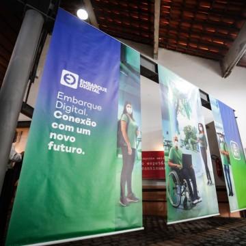 Programa Embarque Digital permitirá a formação de jovens visando rápida empregabilidade