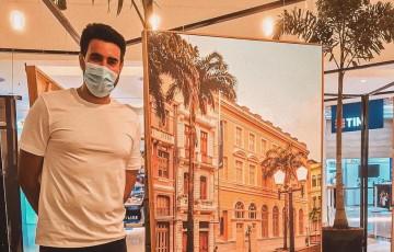 Bruno Lima expõe no RioMar