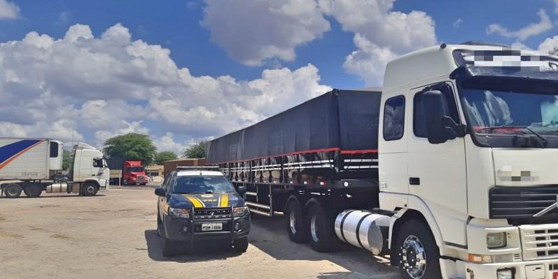 Veículo apresentou 22 toneladas de excesso de peso