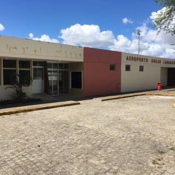 A partir de novembro Aeroporto Oscar Laranjeira recebe voos