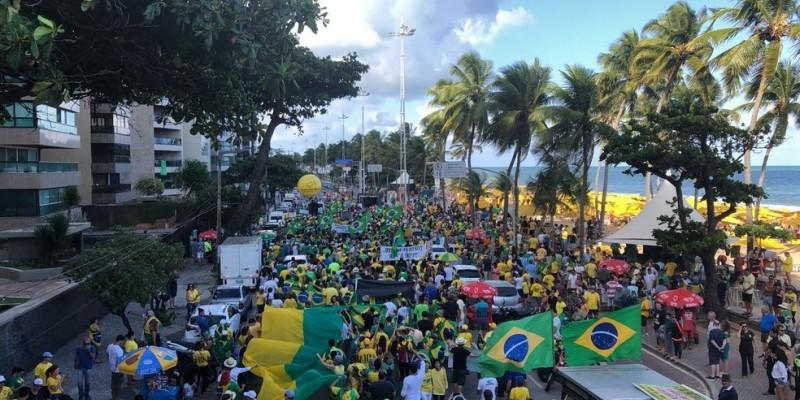 De acordo com a Polícia Militar, cerca de aproximadamente 2 mil pessoas devem estar presentes no protesto