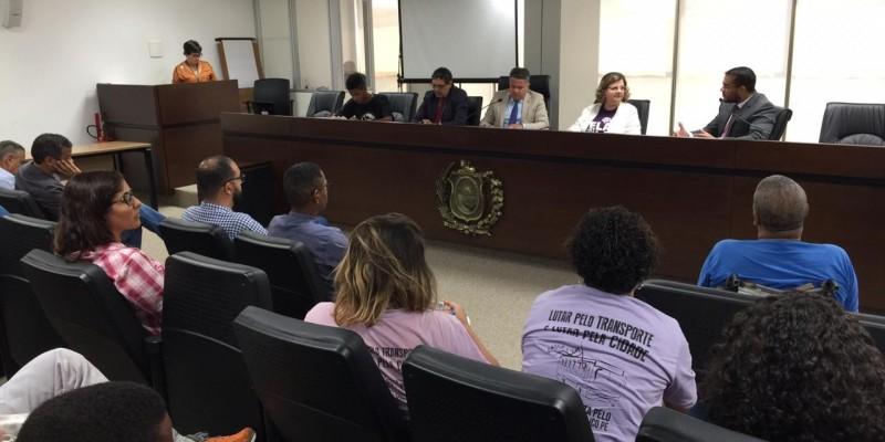 O encontro tem como objetivo contribuir com sugestões, projetos de leis e resoluções para melhorar a qualidade do serviço