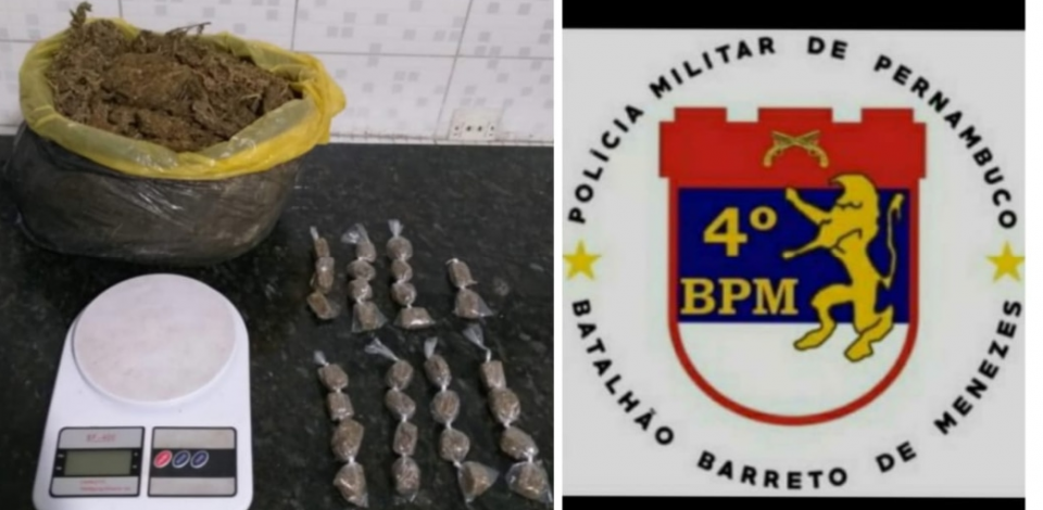 Policiais da Operação Forte apreendem dois homens vendendo drogas em Caruaru