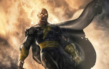 The Rock divulga imagem e data de estreia do filme solo do Adão Negro da DC Comics