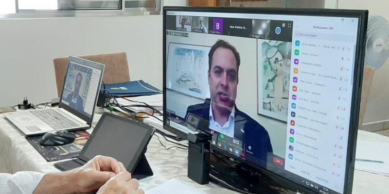 Participaram da reunião online 41 prefeitos da RMR, Zona da Mata e do município de Limoeiro