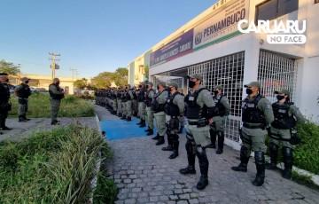PM realiza operação Convergência no Parque 18 de Maio, em Caruaru