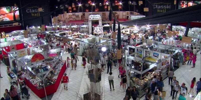Expectativa é que 120 mil pessoas compareçam à feira de artesanato, movimentando mais de R$ 3 milhões