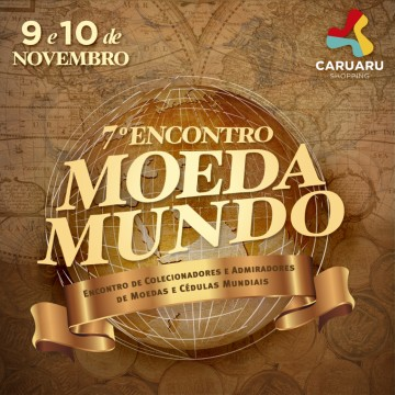 7ª edição do Moeda Mundo será realizada no Caruaru Shopping