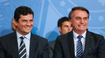 Bolsonaro analisa Moro como vice na chapa em 2022