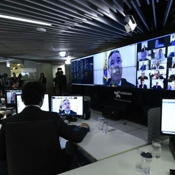 Em uma sessão virtual inédita, Senado aprova decreto de calamidade pública