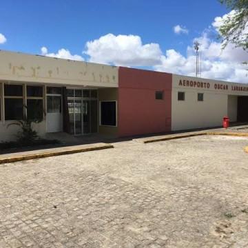Cerca de R$20 milhões serão destinados pelo governo do estado para infraestrutura do aeroporto de Caruaru, diz Fernandha Batista