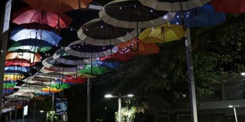 Pouco tempo depois da Prefeitura do local enfeitar as ruas da cidade, vários adornos e elementos foram roubados ou danificados