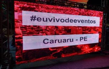 Profissionais de eventos celebram com ato em Caruaru