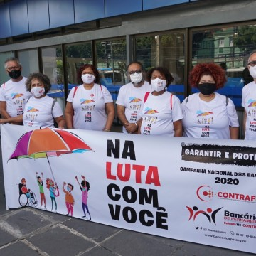 Bancários de Pernambuco aprovam Estado de Greve em assembleia virtual