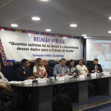 Câmara do Recife debate inclusão de autistas no Censo do IBGE