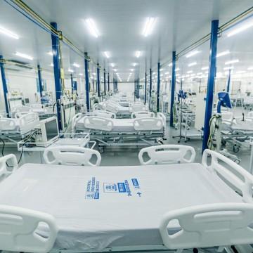 Covid-19: Novo hospital de campanha fica pronto no Recife