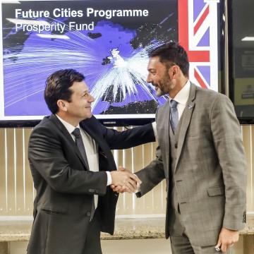 Recife firma convênio com o Reino Unido para aprofundar trabalhos na área de Dados Abertos