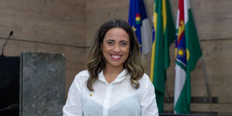 A vereadora caruaruense pelo Cidadania também deu destaque sobre as ações desenvolvidas na Câmara municipal