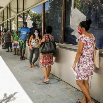 PM vai atuar na organização de filas nas agências da Caixa em Pernambuco