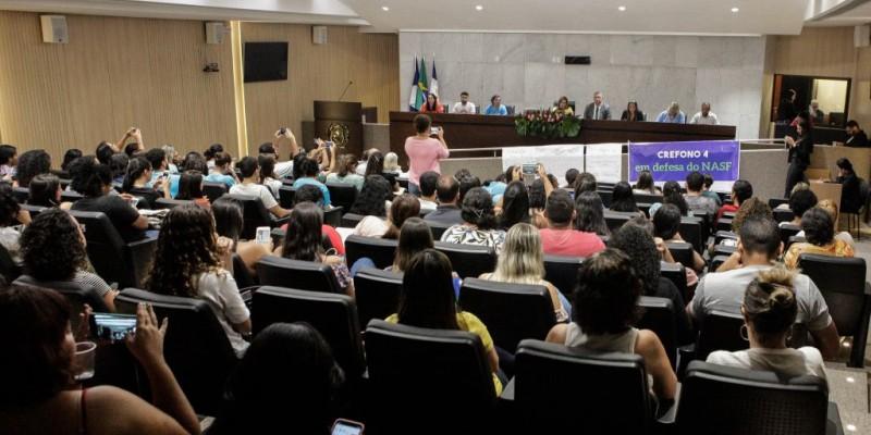 A audiência foi convocada pelo deputado Isaltino Nascimento, do PSB