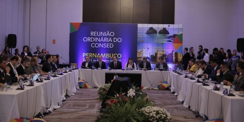 O encontro  trata sobre o Novo Ensino Médio, a Base Nacional Comum Curricular e o novo Fundeb