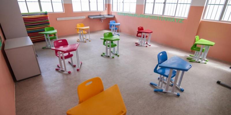 As vagas são destinadas a crianças entre 4 e 5 anos de idade (Pré I e Pré II) e que ainda não estudem na rede municipal de ensino