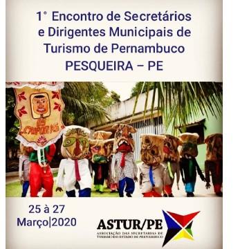 ASTUR vai realizar  encontro de secretários de Turismo em Pesqueira