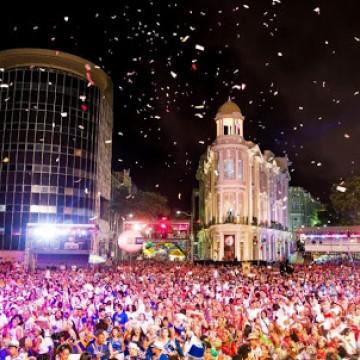 Abertura do carnaval do Recife acontece às 19h no Marco Zero