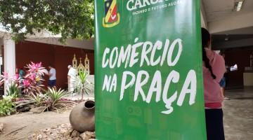 Projeto Comércio na Praça funcionará a partir desta sexta-feira (01) em Caruaru